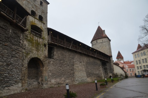 Old town defences