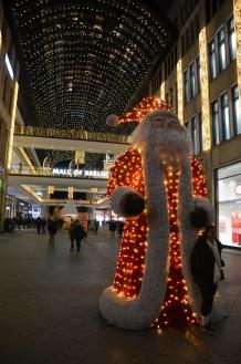Santa in the mall