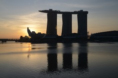 Marina Bay Sands sunrise
